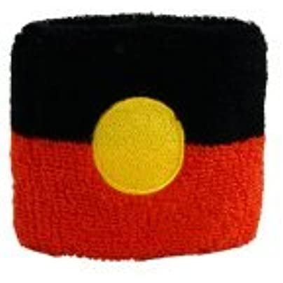 Digni reg Australia Aborigines Wristband sweatband set pieces free sticker Estimated Price £6.95 -