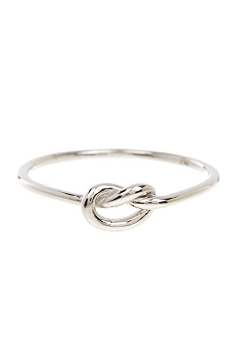 Sterling Silver Love Knot Ring Size : 6