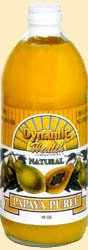 Dynamic Health Papaya Puree -- 16 fl oz