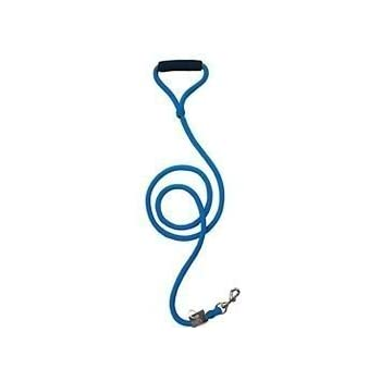 "Timberwolf Alpine Rope Dog Leash ~Blue~ 7/16""x 72"""