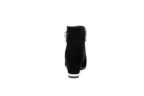 Sandales Compensées Femme Noir Sxe05137 Adeesu nRqwU5YUg