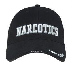 DELUXE LOW PROFILE CAP BLACK - NARCOTICS