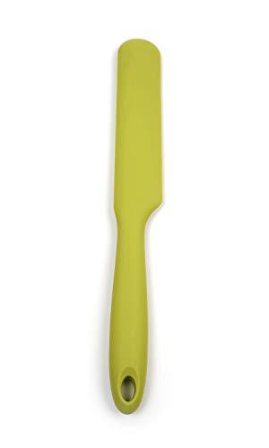 RSVP Ela's Straight Silicone Spatula, Green (ELS-GR)