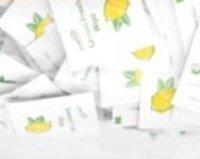 500 Individual Preema Lemon Scented Wet Wipes