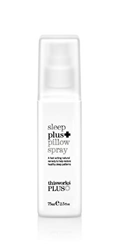 Healthy Sleep Patterns - ThisWorks Sleep Plus Pillow Spray, 75 ml - Natural Remedy to Help Restore Healthy Sleep Patterns