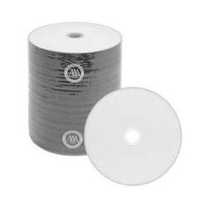500 Spin-X 52x CD-R 80min 700MB White Thermal Hub Printable by SpinX