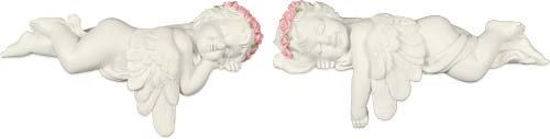 Angel Shelf Sitters - Angelstar 19275 Dreamers Cherub Angel Figurine, 6-1/4-Inch, Set of 2