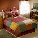 Donna Sharp ‑ ''Full/queen'' Southwest Square Quilted Duvet 90''x 90'' 100% Cotton