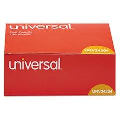 (6 Pack Value Bundle) UNV24264 Golf & Pew Pencil, HB, Yellow Barrel, 144/Box
