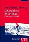Deutschland 1500-1648: Eine zertrennte Welt: Sozial- und Kulturgeschichte im Überblick (Uni-Taschenbücher M)