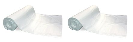 TRM Manufacturing 610C Plastic Sheeting, 6 Mil, 10' x 100' (2-Pack)