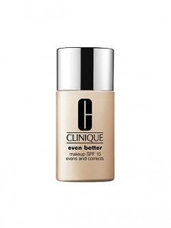 Clinique Even Better Makeup Broad Spectrum Spf15 Evens & Correct Foundation, 1 Ounce, Porcelain Beige