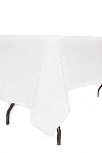 12-Pack Premium Disposable Plastic Tablecloth 54