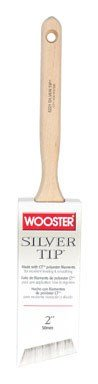(Wooster Brush 5221-2 Silver Tip Angle Sash Paintbrush, 2-Inch)