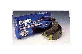 Bendix R528 Rear Relined Brake Shoe Set