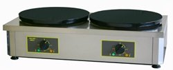Equipex 400ED Commercial Crepe Maker, Double Plate