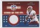(Stephen Davis #291/300 (Football Card) 2002 Playoff Prestige - Stars of the NFL Jerseys #SN-11)