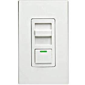 lumaTech 600VA Preset Electronic Mark 10 Powerline Fluorescent Slide Dimmer, Single Pole and 3-Way, White/Ivory/Almond (Quiet Electronic Low Voltage Dimmer)