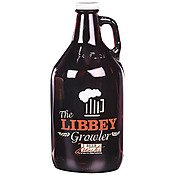 Libbey 70217 Amber Glass 64 Ounce Beer Growler - 6 / CS by Libbey (Image #1)