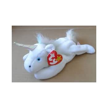 Ty Beanie Babies - Mystic the Unicorn with Iridescent Horn