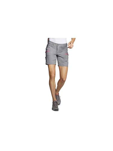 Eddie Bauer Women's Guide Pro Shorts, Gray Regular ()