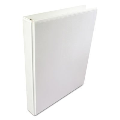 International A4 Size 4-Ring View Binder, 2'' Capacity, White, Sold as 1 Each by Wilson Jones 2' Capacity White