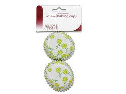 Miniature Baking Cups With Flower Design