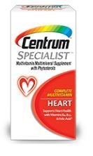 Centrum Specialist Heart, Formerly Known as Centrum Cardio Tabs 60 Count Review
