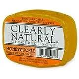 Clearly Natural Glycerine Soap, Honeysuckle, Honeysuckle - 4 oz