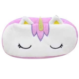 Viola Astucci per unicorno per ragazze astuccio carino e soffice perfetto per la scuola o come regalo