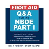 First Aid Q&A for the NBDE Part I (First Aid Series) (Pt. 1) [PAPERBACK] [2008] [By Derek Steinbacher]