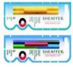 (Sheaffer Refills Multicolor 5 Pack Fountain Pen Cartridge - SH-96400)