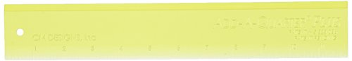 Plus Ruler (CM Designs CMD20012 Ruler Add-A-Quarter Plus, 12
