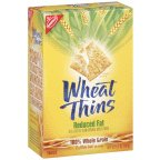Nabisco, Wheat Thins, Reduced Fat, 8.5oz Box (Pack of 12)