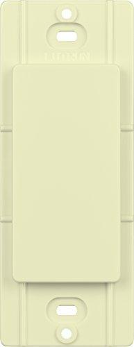 Faceplate Blank Insert - Lutron DV-BI-AL Diva Blank Insert, Almond