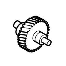 Hitachi 998035 Spindle CN16 CN16SA Replacement Part