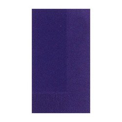 Duni Napkins, Violet, 2 Ply, 8-125 Count Packs (05-0350) Category: Napkins - Duni Supply Corp Napkins