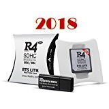 other 2018 Version Micro SDHC TS Lite Dual Core Card + Memory Adapter Compatible for 3DS, NDSiXL/LL, NDSi,NDSL, NDS, DSI, 2DS, NEW 3DS XL,NEW 2DS XL(Black,RTS Lite)