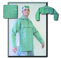 Weldmark - Cape Sleeve, Green Cotton, Extra Large, FR7A, 9 oz (3 Units)