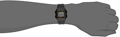 Casio Men F201WA9A MultiFunction Alarm Sports Watch