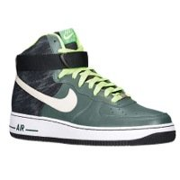 NIKE Men's Air Force 1 High '07 Vintage Green/Mortar/Black Basketball Shoes 10 Men US (New Nike Air Force Ones Release Dates)