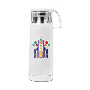 Christ Church Cool Thermos Vacuum Insulated Stainless Steel Bottle