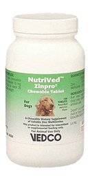 NutriVed Zinpro for Dogs (100 CHEWABLE Tablets), My Pet Supplies