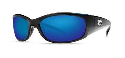 Costa Del Mar Hammerhead Sunglasses, Black/Blue Mirror 400Glass by Costa Del Mar