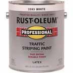 RUST-OLEUM 2593402 Traffic Paint, White