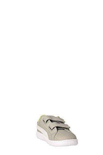 Puma Unisex-Kinder Smash Fun Cv V Einlegesohlen, Blau Grey/White