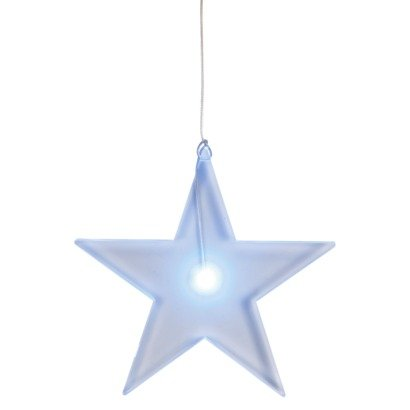 philips solar led blue hanging stars lights 4count
