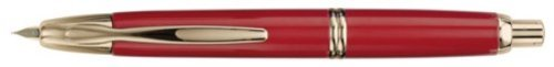 Namiki Vanishing Point Gold Trim Red Ink Pen Medium by Namiki (Image #1)