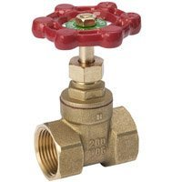 "Mueller Industries 100-408HC Threaded Brass Gate Valve 2"" by MUELLER INDUSTRIES"