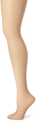 Taupe Sheer Hosiery - Hanes Women's Control Top Sheer Toe Silk Reflections Panty Hose, Soft Taupe, A/A/B